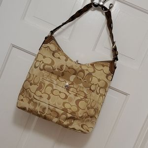 Coach Chelsea Optic Signature Hobo
